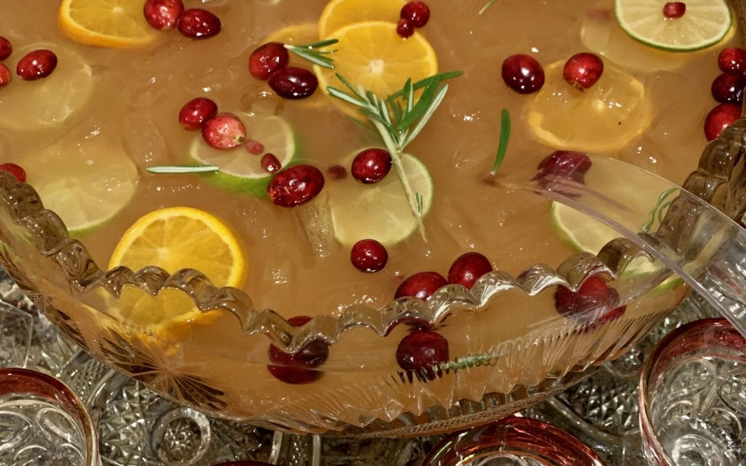 Easy Holiday Punch