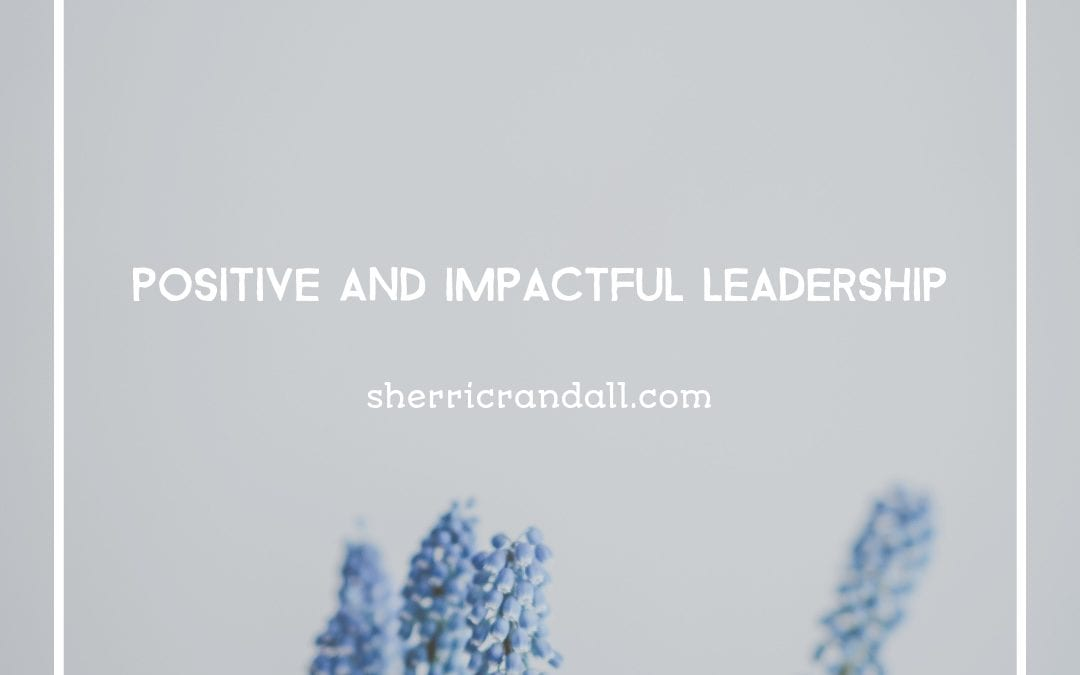 Positive and Impactful Leadership