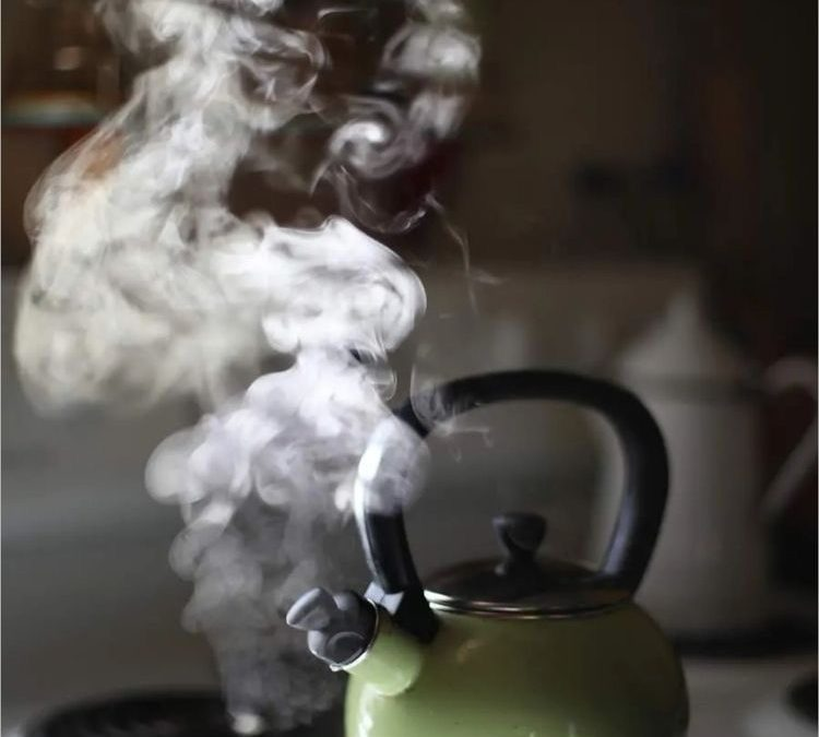 Fill Your Kettle Before You Pour A Cup of Tea